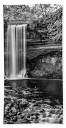 Minnehaha Falls Beach Towel