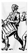 Minutemen: Spirit Of 1776 Beach Towel