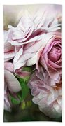 Miracle Of A Rose - Mauve Beach Towel