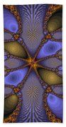 Mirror Butterfly Beach Towel