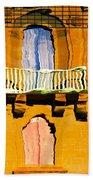 Mirror Image In Malta Beach Towel
