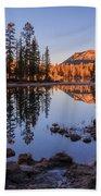 Mirror Lake Dawn Beach Towel