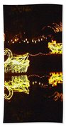 Mirror Lake Reflections Beach Towel