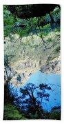 Mirror Lake Three New Zealand Beach Towel