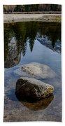 Mirror Lake Threesome 2 Yosemite Beach Towel