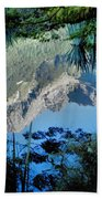 Mirror Lake Two New Zealand Beach Towel