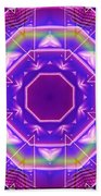 Mirror Reflections Beach Towel
