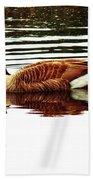 Mirrored Goose Beach Towel