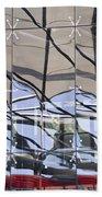Mirroring On Vitreous Wall Beach Towel