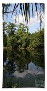 Mirrow Lake - Magnolia Gardens Beach Towel