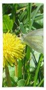 Miss Busy Butterfly Beach Sheet