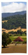 Mission Meadows Solvang California Beach Towel