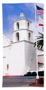 Mission San Luis Rey Beach Towel