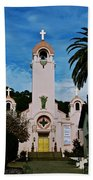 Mission San Rafael Beach Towel