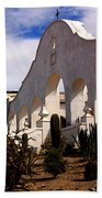 Mission San Xevier Del Bac Beach Towel
