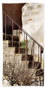 Mission Stairs Beach Towel