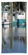 Mississippi Boats Beach Towel by Carol Groenen