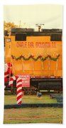 Mississippi Christmas 13 Beach Towel