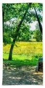 Mississippi Memorial Gettysburg Battleground Beach Towel
