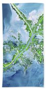 Mississippi River Delta Beach Towel