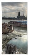 Mississippi River Beach Towel