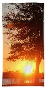 Mississippi Sunset 1 Beach Towel