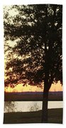 Mississippi Sunset 13 Beach Towel