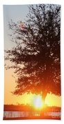 Mississippi Sunset  2 Beach Towel