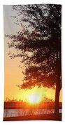 Mississippi Sunset 3 Beach Towel