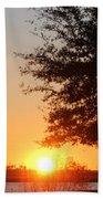 Mississippi Sunset 4 Beach Towel