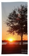 Mississippi Sunset 6 Beach Towel