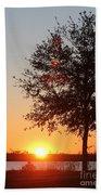 Mississippi Sunset 7 Beach Towel