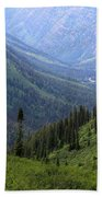 Mist In The Valley Beach Towel