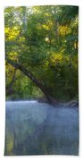 Mist On The Wissahickon Beach Towel