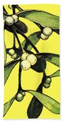 Mistletoe Beach Towel