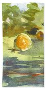 Misty Morning Gold Beach Towel