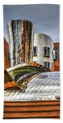 Mit Stata Building Center - Cambridge Beach Towel