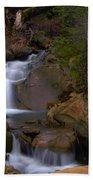 Mix Canyon Creek Beach Towel by Bill Gallagher