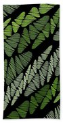 Mixed Assembly-green Beach Towel
