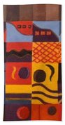 Mixed Emotions Beach Towel