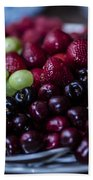 Mixed Fruit Beach Towel