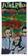 Mlk Fatherhood 1  Beach Towel