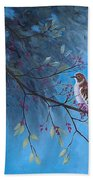 Mockingbird Happiness Beach Towel