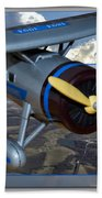 Model Planes Top Wing 04 Beach Towel