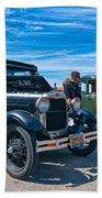 Model T Fords Beach Towel by Steve Harrington