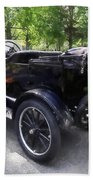 Model T With Luggage Rack Beach Towel