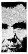 Modern Abe - Abraham Lincoln Art By Sharon Cummings Beach Towel