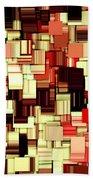 Modern Abstract Art Xvii Beach Towel