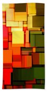 Modern Abstract I Beach Towel by Lourry Legarde