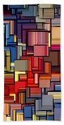 Modern Abstract Xii Beach Towel by Lourry Legarde